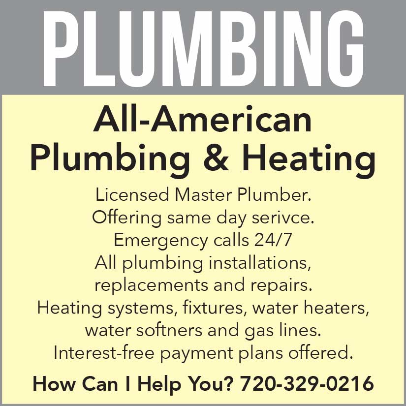 All American Plumbing advertisement